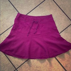Athleta Linen Skirt!